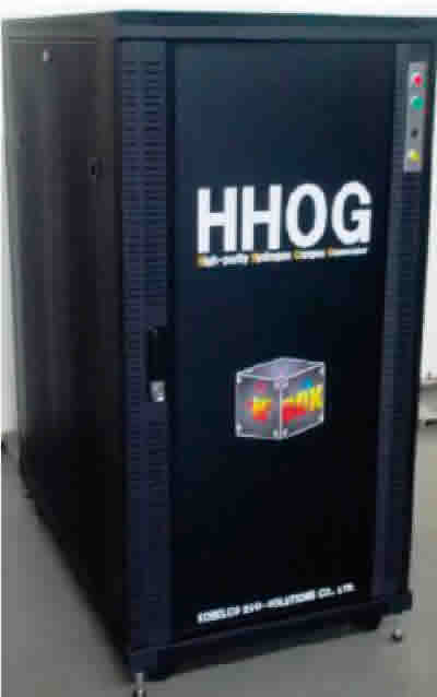 High-purity Hydrogen Oxygen Generator (product name: HHOG)