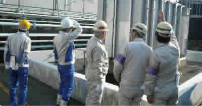 Disaster prevention inspection (Shinko Metal Products Co., Ltd.)