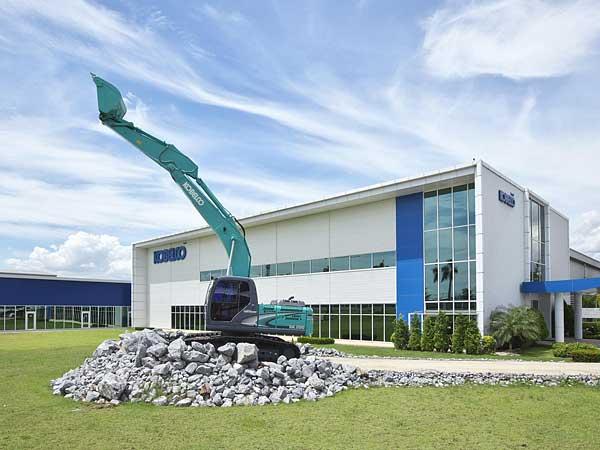 Kobelco Construction Machinery Southeast Asia Co , Ltd  | KOBE STEEL