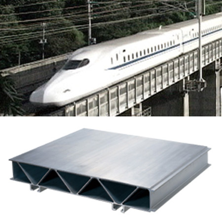 Aluminum Shapes for Rolling Stock
