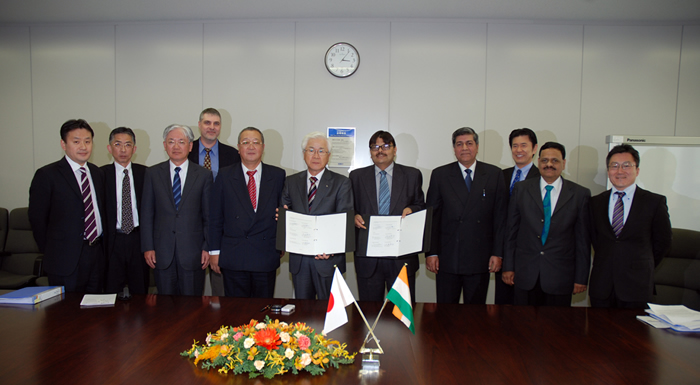 Kobe Steel and India's SAIL sign MOU for Comprehensive Strategic Collaboration
