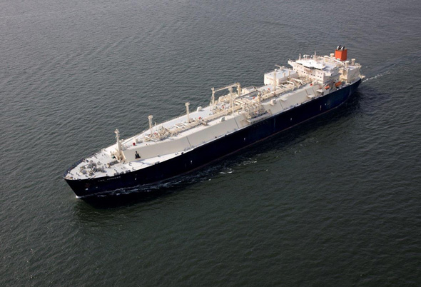 File photo of an LNG carrier