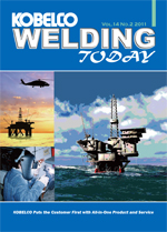Kobelco Welding Today Vol.14 No.2 2011