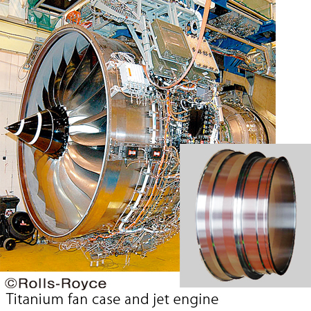 Titanium for Aircraft Engine Components