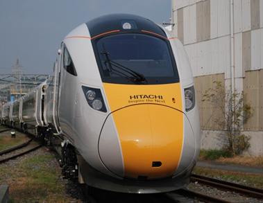 Hitachi's IEP train.