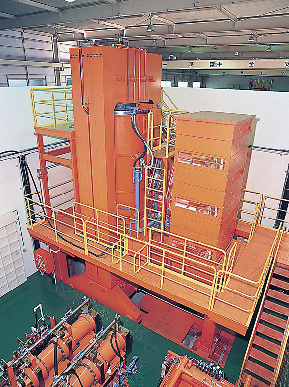 File photo of a large Kobe Steel hot isostatic press