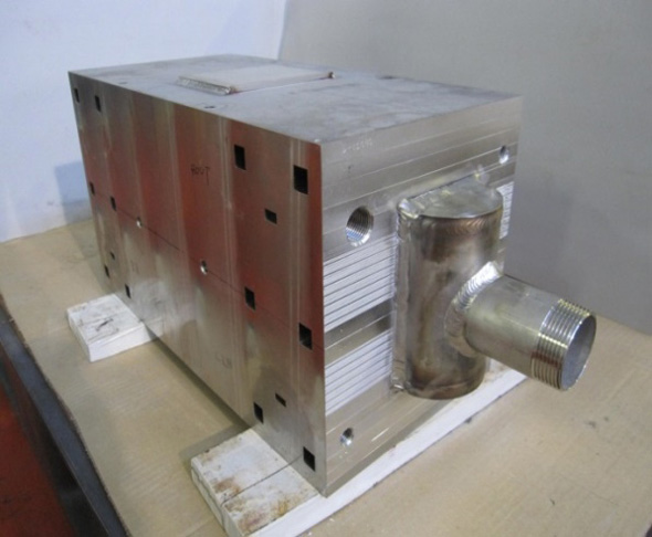 Diffusion Bonded Compact Heat Exchanger (DCHE)